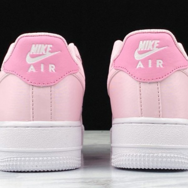 "Nike Air Force 1 GS ""Pink Foam"" Pink/White Running Shoes CV9646-600 Womens AF1 Sneakers"
