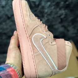 Nike Air Force 1 High 07 LV8 AA1118-600 Pink Running Shoes Womens AF1 Sneakers