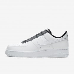 Nike Air Force 1 07 LV8 Low White Black Shoes CK4363-100 Unisex AF1 Sneakers