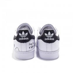 Superstar Adidas & Disney 2020 White Black Unisex Casual Shoes FW2985