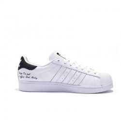 Superstar Adidas & Disney 2020 White Black Unisex Casual Shoes FW2985
